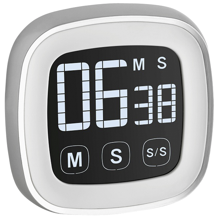 Timer with stopwatch