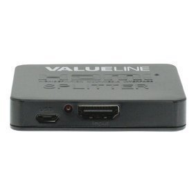 HDMI Splitter HDMI Input - 2x HDMI Output Black
