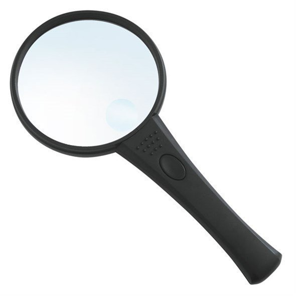 Magnifying glass with LED light ,90mm