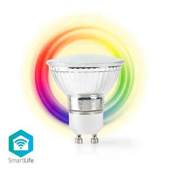 Wi-Fi Smart LED Bulb Full-Colour and Warm White GU10