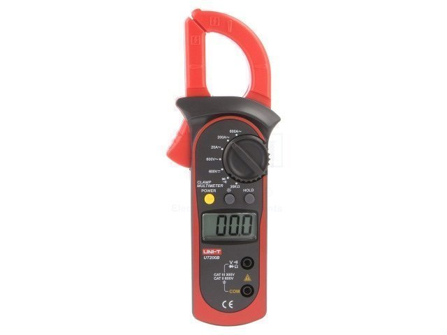 AC digital clamp meter LCD 2000,with a backlit