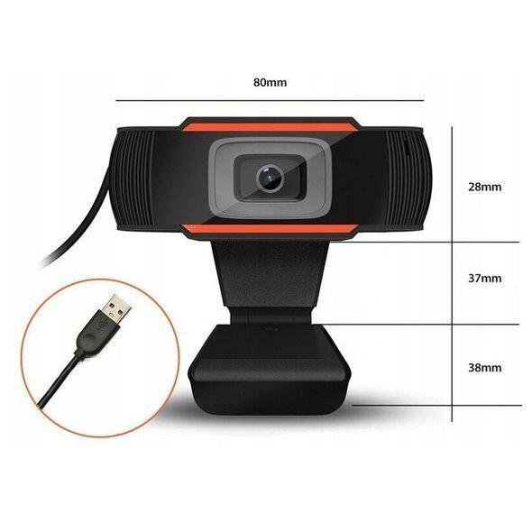 Web Camera X13 FullHD webcam with microphone DUXO