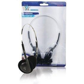 Headphones On-Ear 3.5 mm Wired Black